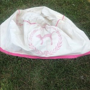 Pink Vintage Round Tablecloth